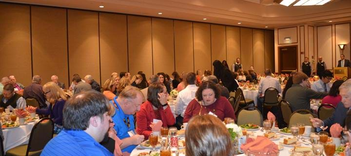 WVSHP spring meeting 2016 Awards lunch
